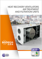 HEAT RECOVERY VENTILATORS AIR TREATMENT AND FILTRATION UNITS