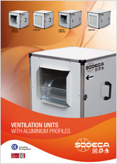 VENTILATION UNITS  WITH ALUMINIUM PROFILES